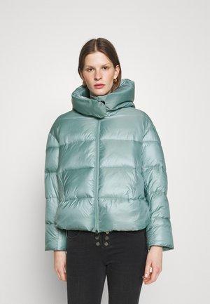 GIZA IMBOTTITO TELA TECNICA SEMILUCIDA - Winter jacket - mint