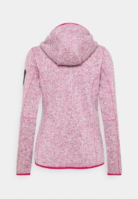 CMP - WOMAN FIX HOOD JACKET - Fleece jacket - granita - 1