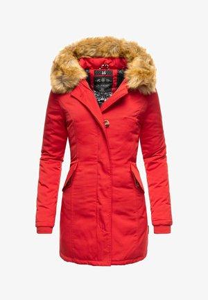 KARMAA - Winter coat - red
