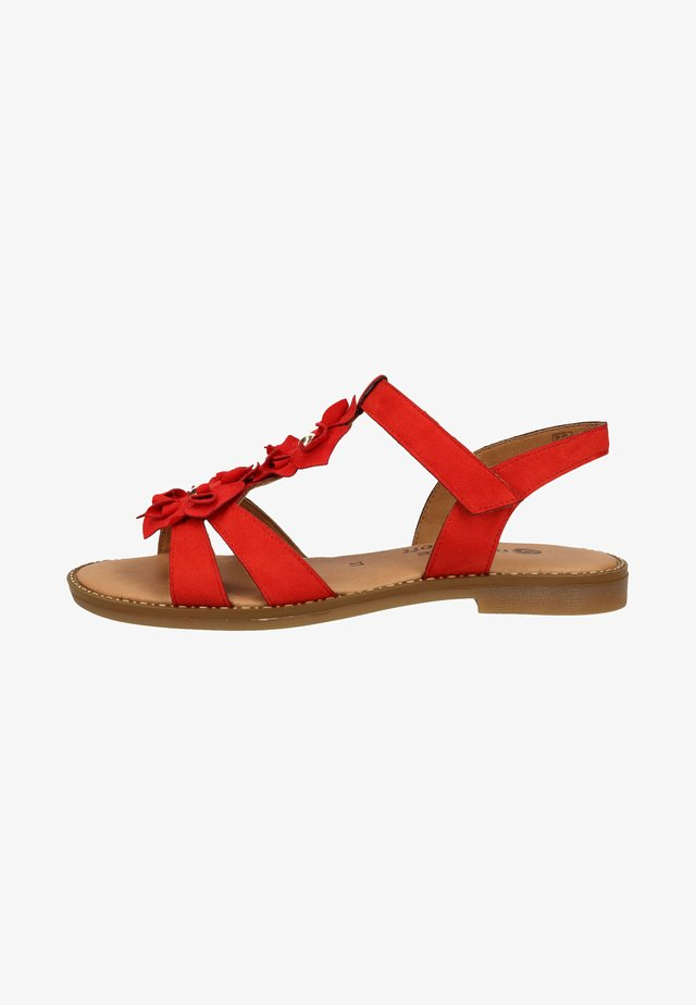 Sandalen - red