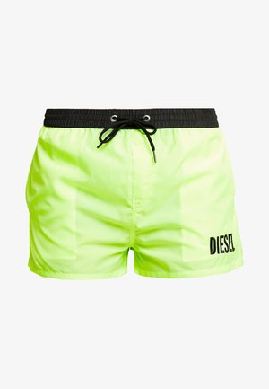 SANDY  - Shorts da mare - black/yellow