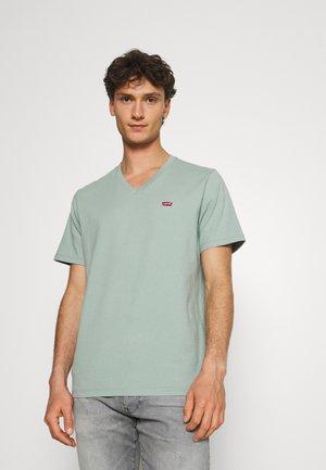 VNECK - Basic T-shirt - blue surf