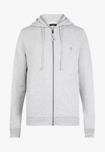 RAVEN - Zip-up hoodie - grey marl