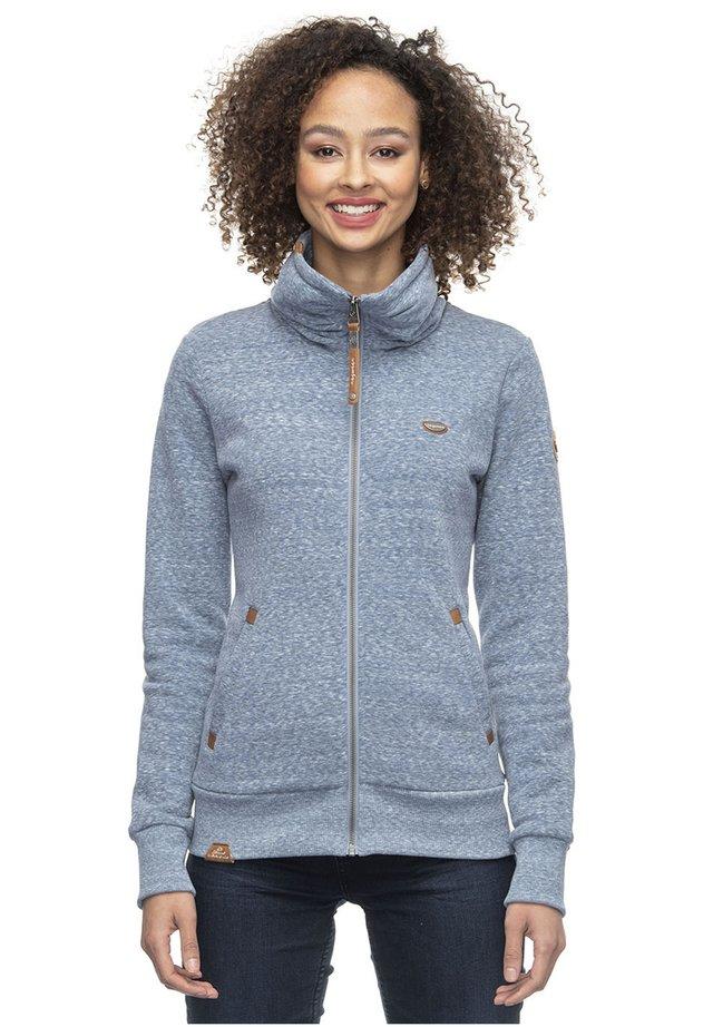 IZOLDA - Zip-up hoodie - light blue