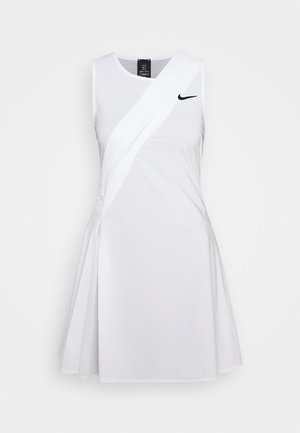 MARIA DRESS - Sportskjole - white/black