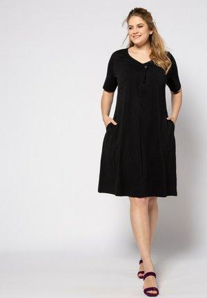 Jersey dress - zwart