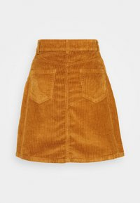 Noisy May Tall - NMSUNNY SHORT SKIRT - A-snit nederdel/ A-formede nederdele - brown sugar - 1