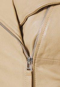 Freaky Nation - BIKER PRINCESS - Leather jacket - driftwood - 6