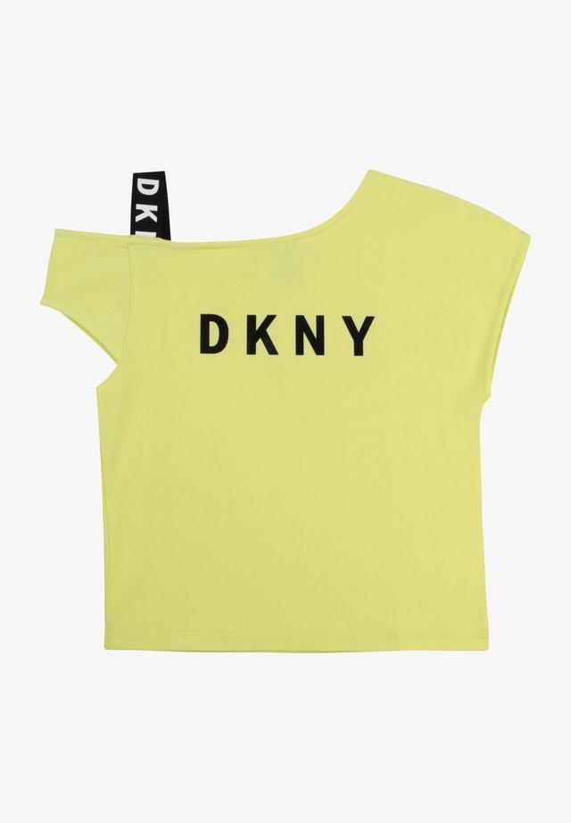 T-shirt imprimé - citrine
