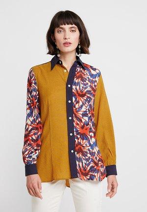 CABA - Košile - orange/blue