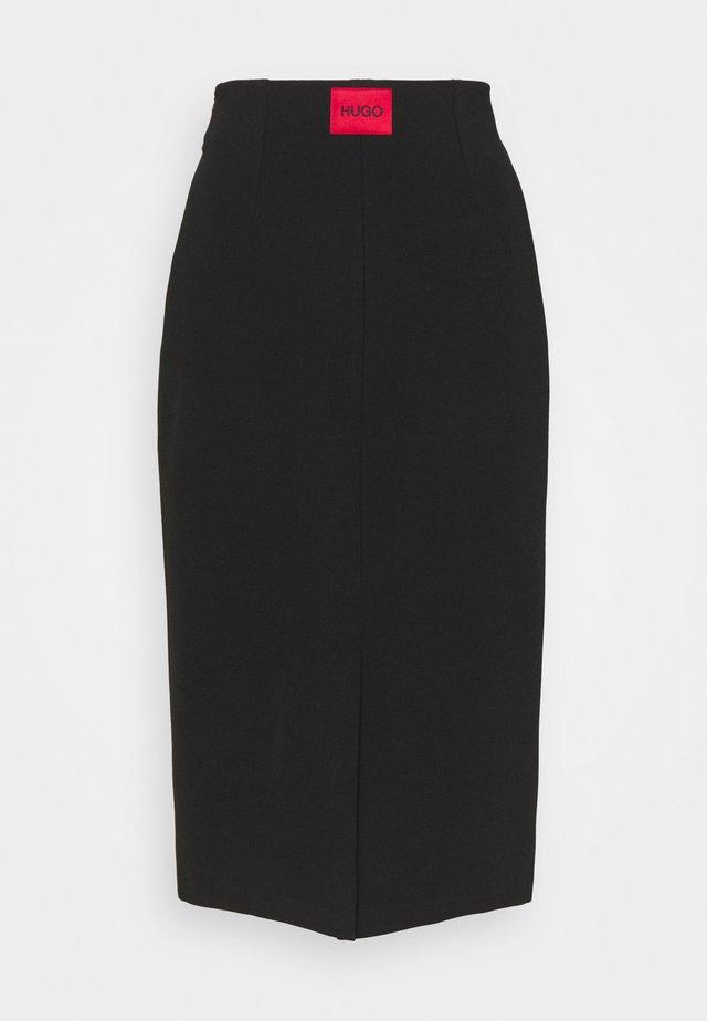 NESSICA - Bleistiftrock - black