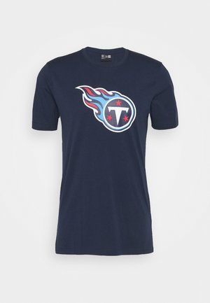 NFL TENNESSEE TITANTS - Print T-shirt - blue