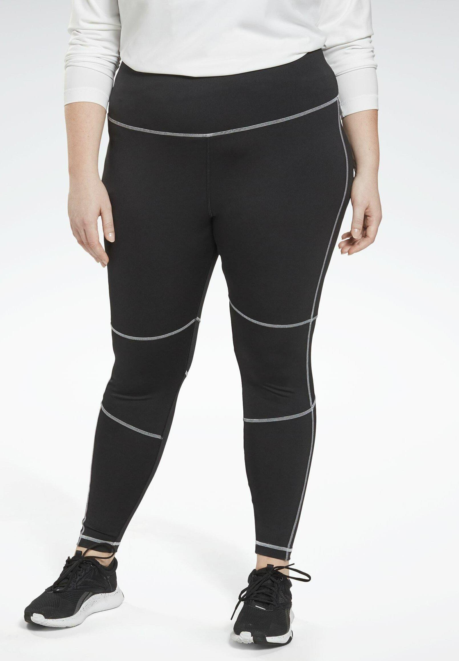 Women WORKOUT READY HIGH-RISE DETAIL LEGGINGS (PLUS SIZE) - Leggings