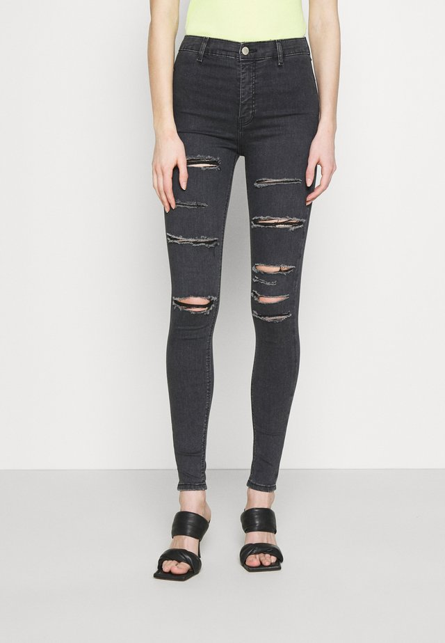 Jeggings - washed black