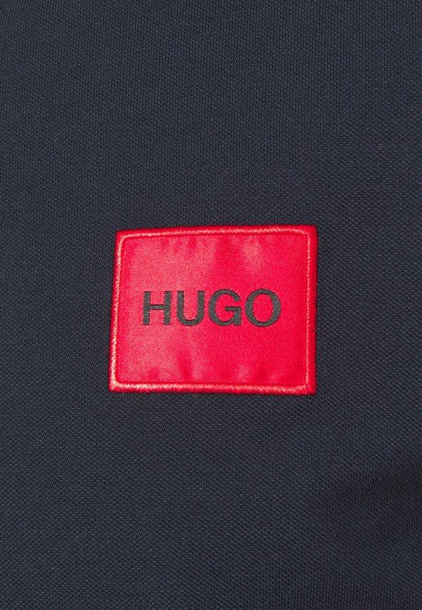 HUGO DERESO - Koszulka polo - dark blue/granatowy Odzież Męska IZCM