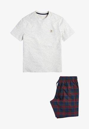 SET - Pyjama set - white/blue