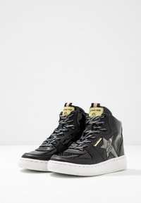 Vingino - LOTTE MID - High-top trainers - black vintage - 3