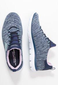 Skechers Sport - SUMMITS - Slipper - navy/purple/light blue - 3