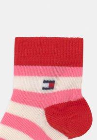 Tommy Hilfiger - GIFTBOX 3 PACK UNISEX - Socks - pink - 2
