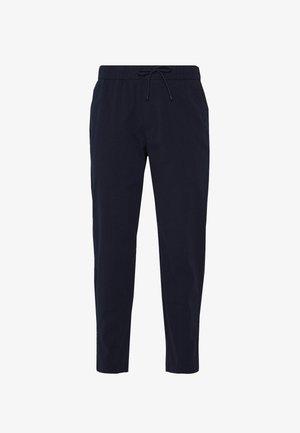 TONAL SEERSUCKER SNEAKER - Pantalon classique - navy
