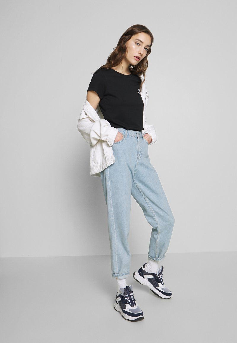 Calvin Klein Jeans - SLIM 2 PACK - Print T-shirt - black