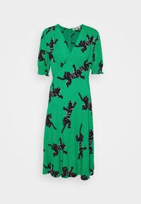 Diane von Furstenberg - JEMMA DRESS - Vapaa-ajan mekko - medium green - 4