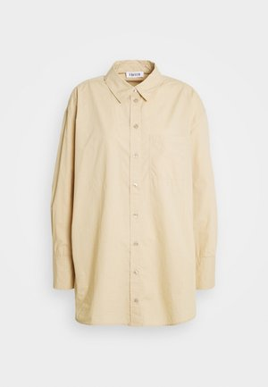 GIANNA - Button-down blouse - beige
