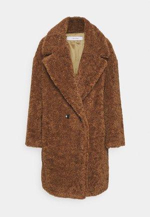 NELLO - Classic coat - noce