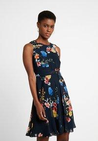 Esprit Collection - FLUENT - Cocktail dress / Party dress - navy - 0