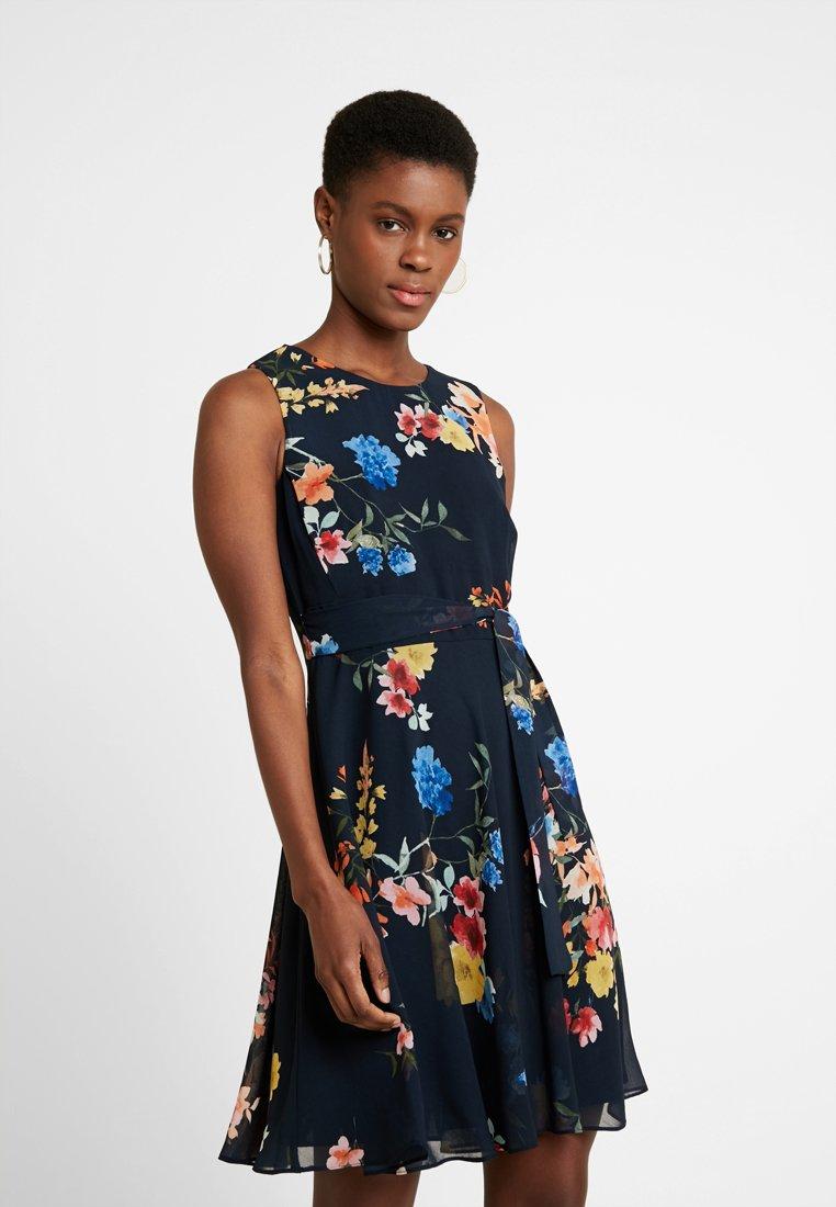 Esprit Collection - FLUENT - Cocktail dress / Party dress - navy