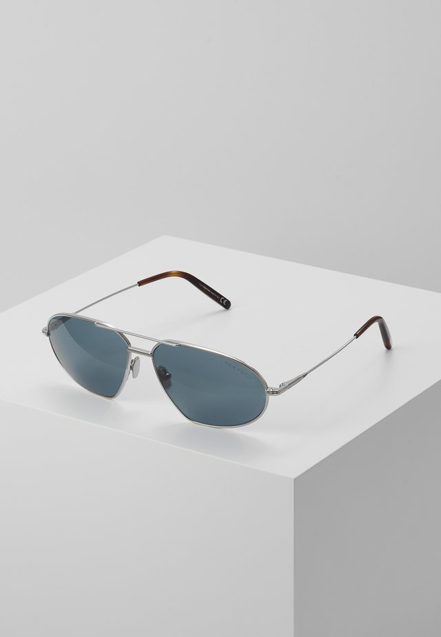 Sonnenbrille - shiny palladium blue