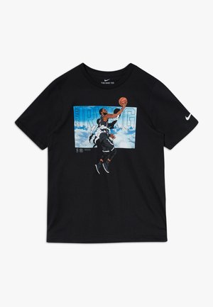 NBA KYRIE IRVING ELEVATION TEE - Print T-shirt - black