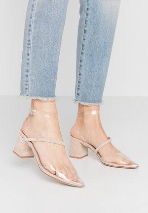 FLORIE - Classic heels - nude