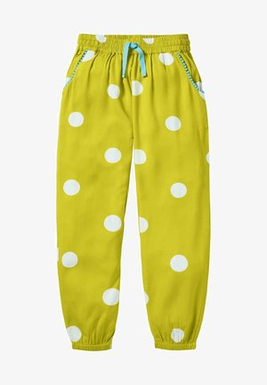 Trousers - sonnenblumengelb, polka-tupfen