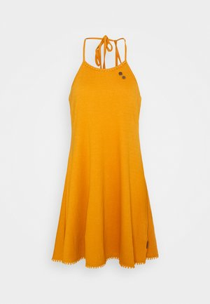 SERAFINA - Jersey dress - yellow