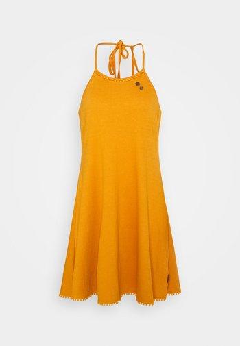 SERAFINA - Jersey dress - yellow