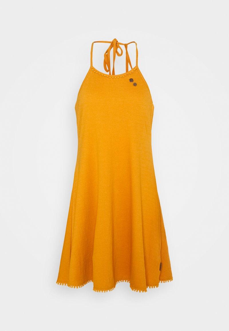 Ragwear - SERAFINA - Jersey dress - yellow
