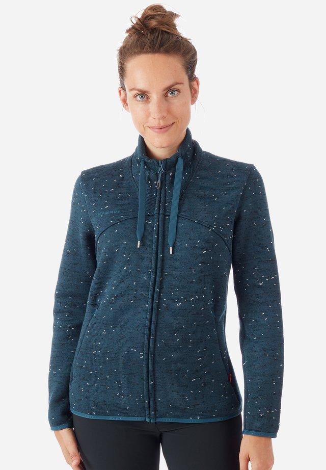 CHAMUERA - Fleece jacket - blue