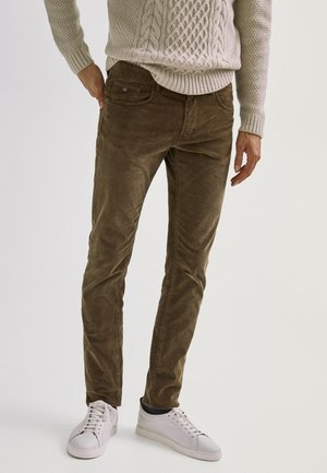 ENTBASTETE  - Trousers - brown
