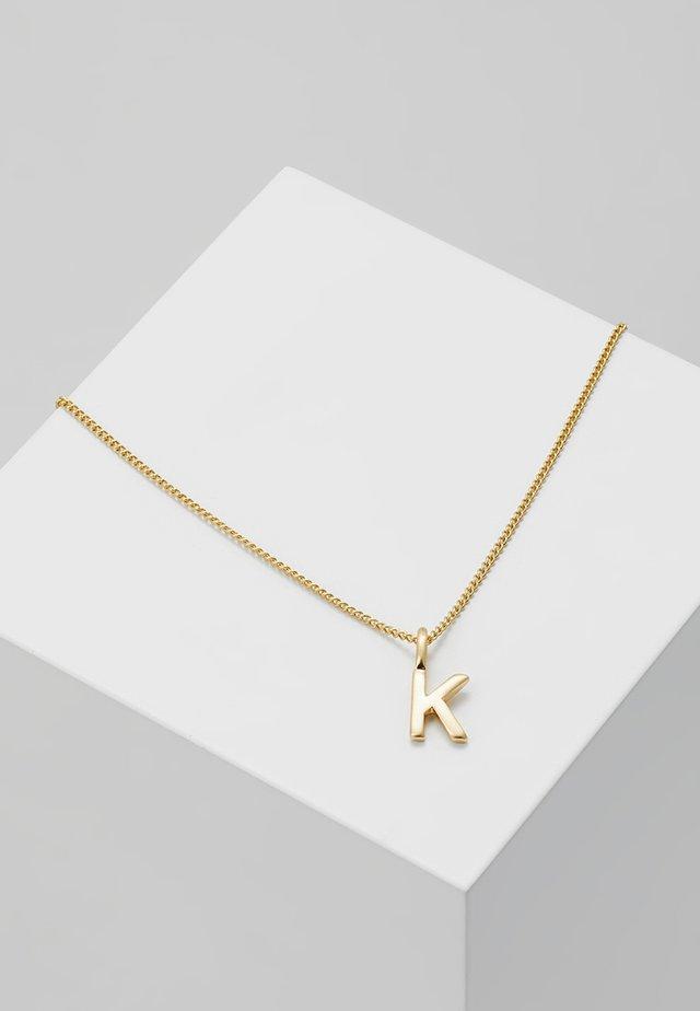 NECKLACE K - Naszyjnik - gold-coloured