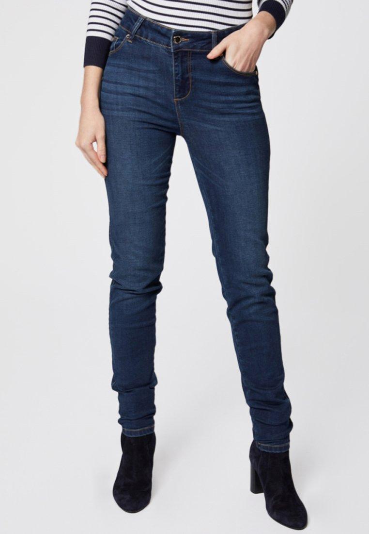 Morgan - Slim fit jeans - black denim