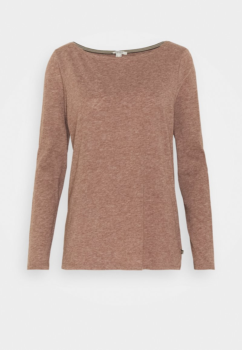 Esprit - Long sleeved top - brown
