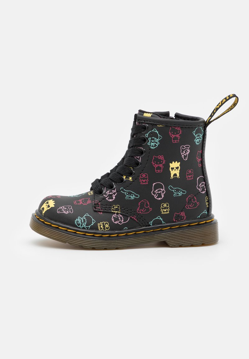 Dr. Martens - 1460 HELLO KITTY & FRIENDS UNISEX - Lace-up ankle boots - black hydro