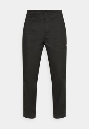 FUNKLEY - Trousers - black