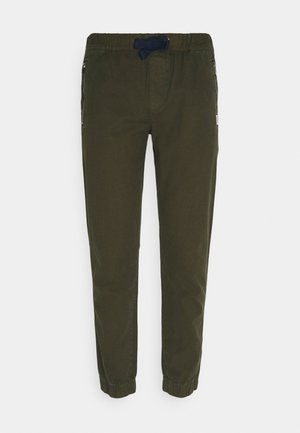 SCANTON JOG PANTS - Tracksuit bottoms - dark olive