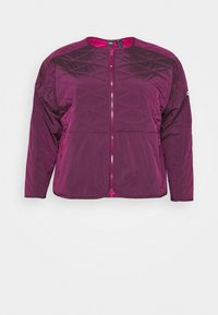 adidas Performance - PADDED - Sports jacket - berry - 6
