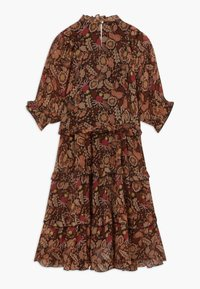 Scotch & Soda - LENGTH DRESS WITH RUFFLES - Denní šaty - combo a copper - 1