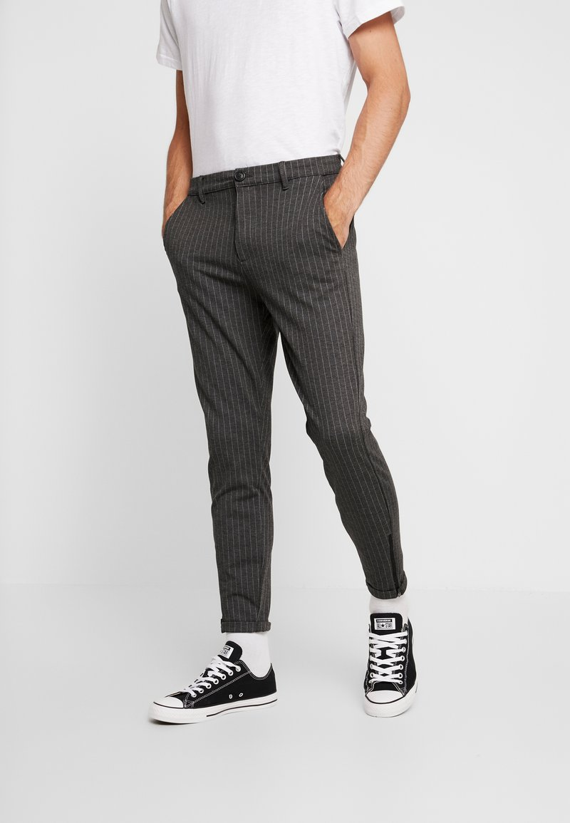 Gabba - PISA - Trousers - grey pin