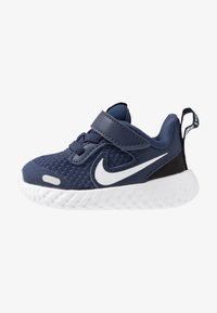 Nike Performance - REVOLUTION 5 UNISEX - Neutral running shoes - midnight navy/white/black - 1