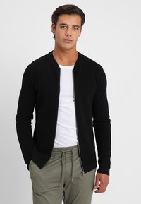 Solid - SHAD - Strickjacke - black - 0